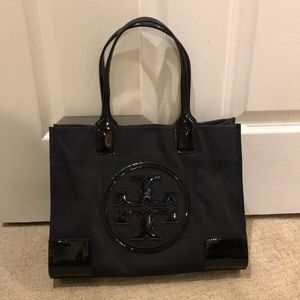 Tory Burch Mini Ella Nylon Tote Bag Purse small